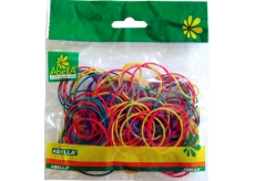 Abella Elastic bands of different colors 150 pieces, 30 g