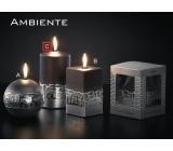 Lima Ambiente svíčka černá válec 80 x 150 mm 1 kus