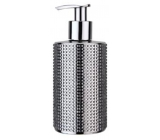 Vivian Gray Diamond Silver luxury liquid soap with a 250 ml dispenser