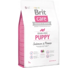 Brit Care Grain-free Junior Salmon and Potatoes Super-Premium Freefood for Dogs and Young Dogs 3 kg