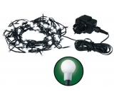 Emos Osvětlení vánoční bílé kuličky 48m-480 LED + 5m přívodní kabel 33W 230V denní světlo
