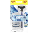 Gillette Mach3 Start Men's Shaver 1 piece + spare heads 2 pieces