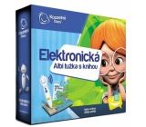 Albi Magic Reading Electronic pencil + interactive talking book Atlas of the world, set