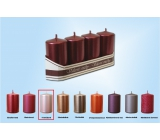 Lima Metal Candle Pink Roller 40 x 70 mm 4 pieces