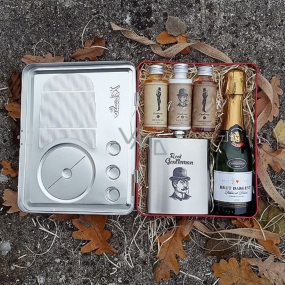 Bohemia Gifts Radio Gentleman gift basket for men