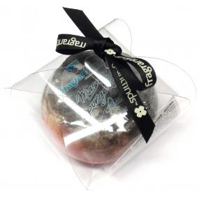 Fragrant Poppy Massage Glycerine Soap with Sponge Filled with Yves Saint Laurent Fragrance - Black Opium 200g