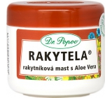 Dr. Popov Rakytela Sea buckthorn ointment with Aloe Vera soothes, moisturizes normal and dried skin, also suitable for care of scars, burns and frostbite 50 ml