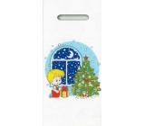 Nekupto Plastic bag 40 x 18 cm Boy with a tree 012 LB