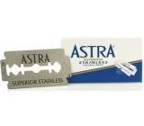Astra Superior Stainless spare razor blades 5 pieces