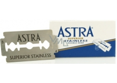 Astra Superior Stainless spare razor blades 5 pieces