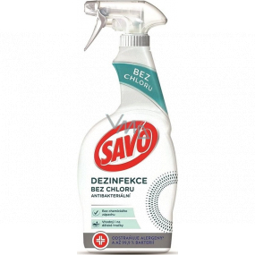 Savo Disinfection without chlorine antibacterial cleaner spray 700 ml