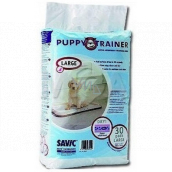 Savic Puppy Trainer Diapers, educational pads for puppies, perfectly absorbing 60 x 45 cm 30 pieces