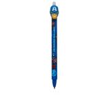 Colorino Rubber pen Captain America blue, blue refill 0.5 mm