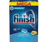 Finish Classic Lemon dishwasher tablets 110 pieces