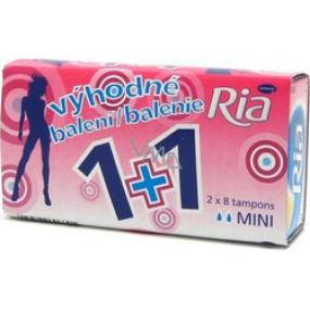 Ria Mini women's tampons 2 x 8 pieces