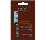 Ziaja Kakaové máslo krémová pleťová maska 7 ml