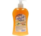 Elegance Almond oil liquid soap dispenser 500 ml