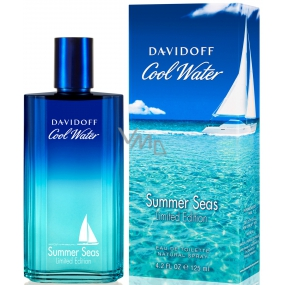 Davidoff Cool Water Summer Seas Man Eau de Toilette 125 ml
