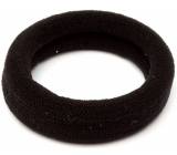 Hair band black 6 x 2 cm