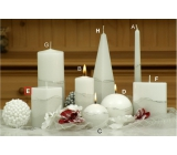 Lima Artic candle white prism 65 x 120 mm 1 piece