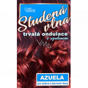 Valea Azuela Cold wool with azulene permanent curl with azulene for gray and colored hair 100 ml