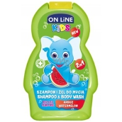 On Line Kids Meloun 2v1 sprchový gel a šampon 250 ml