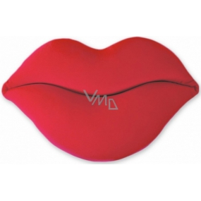 Albi Humorous pillow Red lips width 40 cm, height 23 cm