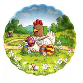 Ditipo Paper plate Easter Chicken 22 cm