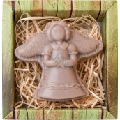 Bohemia Gifts & Cosmetics Angel figure handmade soap in a box 60 g