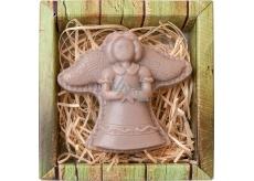 Bohemia Gifts & Cosmetics Anděl postava ručně vyráběné mýdlo v krabičce 60 g
