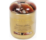 Heart & Home Baked apple Soy scented candle medium burns up to 30 hours 110 g