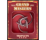 Albi Grand Masters metal puzzle - Triplets 4/4