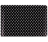Albi Business card holder, cards black Polka dots 9.5 cm x 7 cm