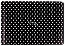 Albi Business card holder, cards black Polka dots 9.5 cm x 7 cm