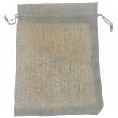 Jute imitation bag 21.5 x 16 cm 667