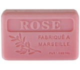 NeoCos Natural rose, organic, from Provence, Marseille soap with shea butter 125 g