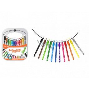 Y-Plus + Parrot markers with suspension, 12 colors