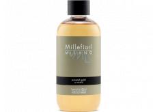 Millefiori Milano Natural Mineral Gold - Mineral gold Diffuser refill for incense stalks 250 ml