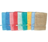 Abella Terry cloth washcloth different colors 21 x 14 cm 1 piece