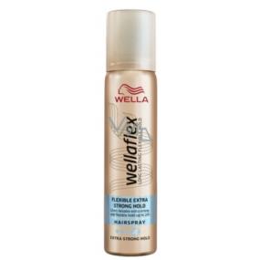 Wellaflex Extra Strong extra silné zpevnění lak na vlasy pro 75 ml