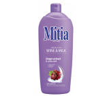 Mitia Wine & Milk liquid soap refill 1 l