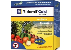 Agro Ridomil Gold MZ fungicide Pepite plant protection product 4 x 25 g