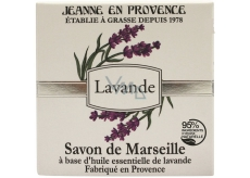 Jeanne en Provence Lavande Lavender solid toilet soap 100 g