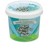 Bomb Cosmetics Mint and Chocolate - Mint Choc Nip Natural Shower Cream for Extremely Dry Skin 365ml