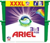 Ariel 3in1 Color Gel Capsules For Laundry Protects And Revives Colors 56 Pieces 1674.4g