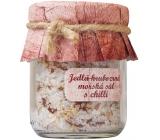 Bohemia Gifts & Cosmetics Chilli Jedlá hrubozrná mořská sůl 60 g
