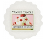 Yankee Candle Strawberry Buttercream - Jahody se šlehačkou vonný vosk do aromalampy 22 g