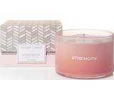 YANKEE CANDLES fragrant glass 3 wicks Cherry Blossom 5444