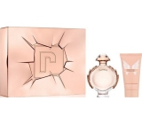 Paco Rabanne Olympea perfumed water for women 80 ml + body lotion 100 ml, gift set