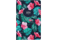 Albi Diary 2019 Pocket Weekly Hibiscus 15.5 x 9.5 x 1.2 cm